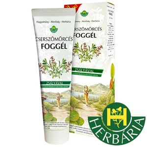 Toothgel Herbaria - Sumac and Sage - mint flavor - 100ml
